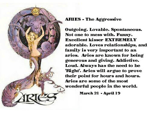 Aries - Zodiac traits of this fire sign