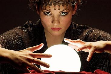 Gypsies have been long associated with Fortune Telling using a Crystal ball