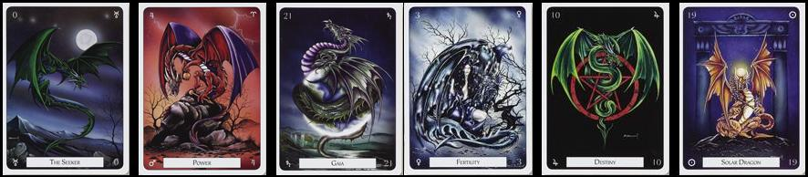 Imperial Dragon Oracle Deck