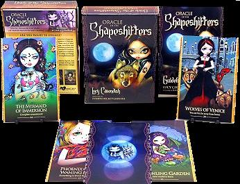 Oracle of the Shapeshifters by Lucy Cavendish and Jasmine Becket Griffith