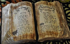 Example of what an Ancient Spellbook could look like